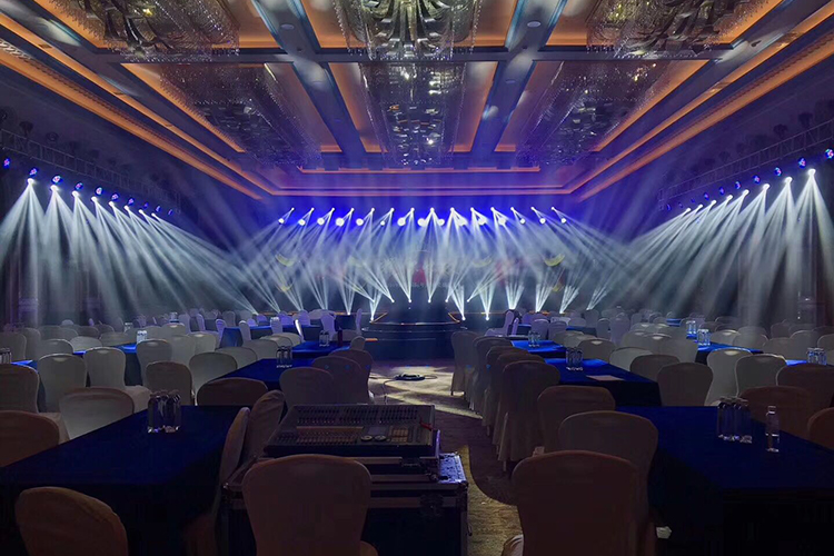 Hotel Ballroom Conference Stage Lighting